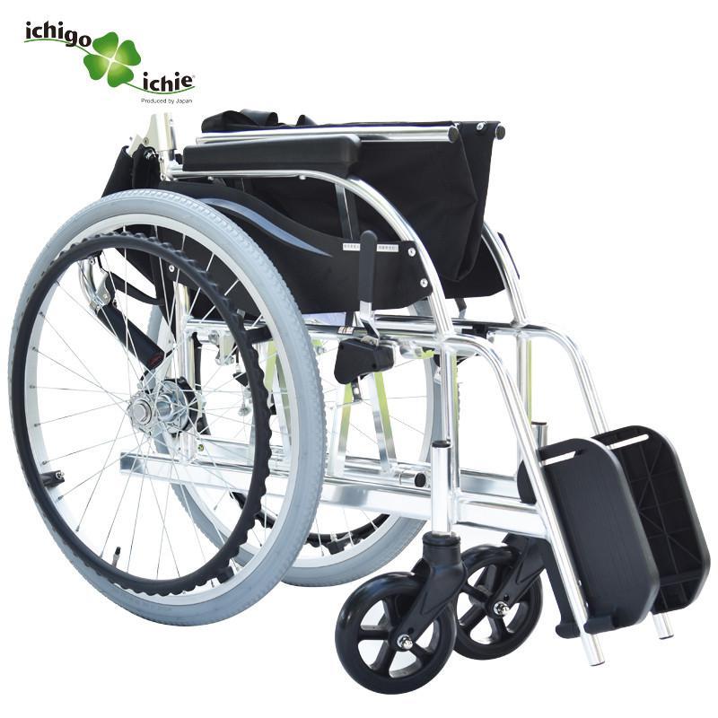 一期一会手动轮椅车铝合金便捷式轻松折叠手动代步车KC1
