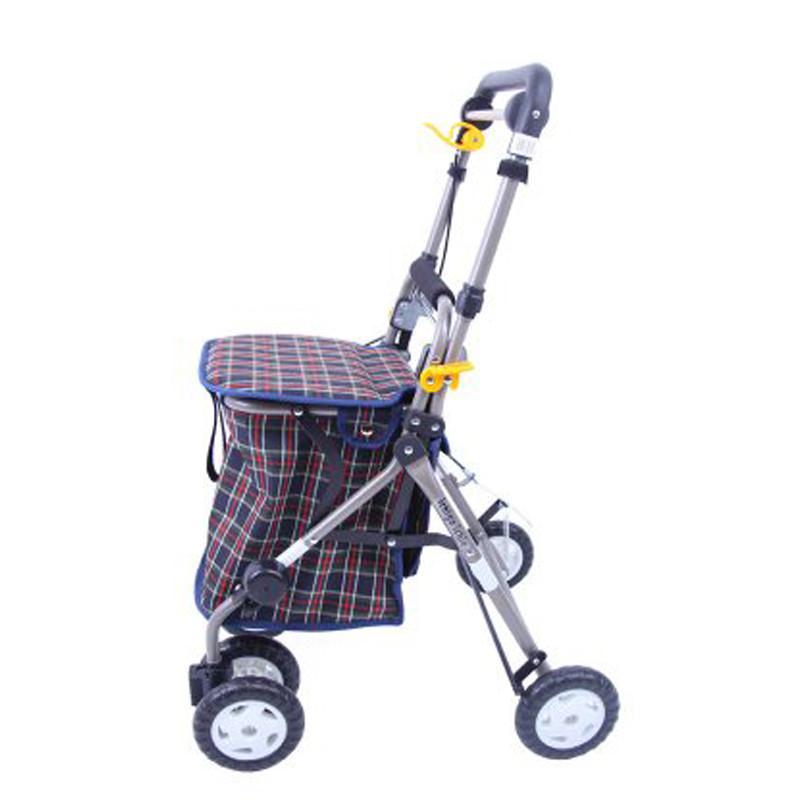 日本一期一会老人助行车购物车步行辅助车买菜车YX-300