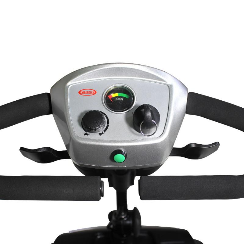 斯维驰智能家用老年人代步车四轮电磁刹车电瓶残疾助力小型电动车SW1000S