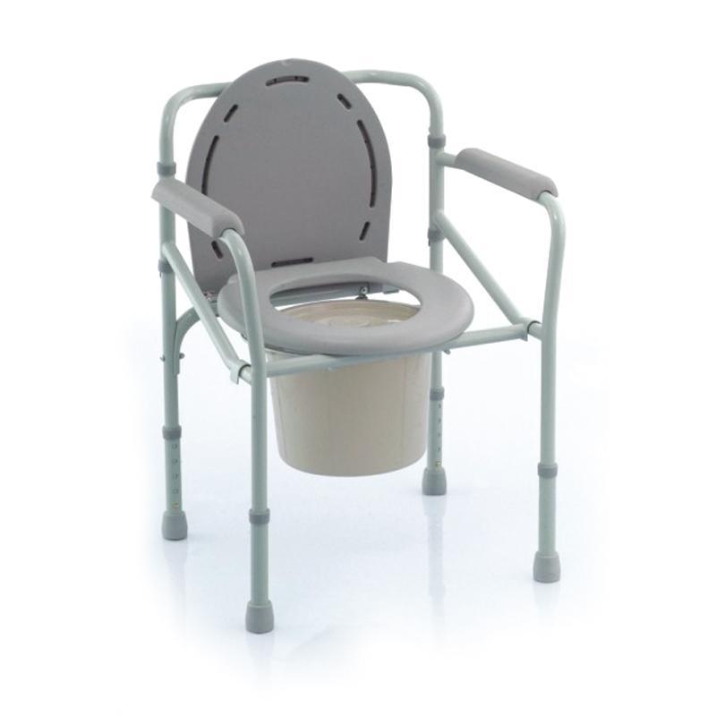鱼跃H023B坐厕椅 老人 家用坐侧马桶 家用孕妇残疾人老人坐便凳