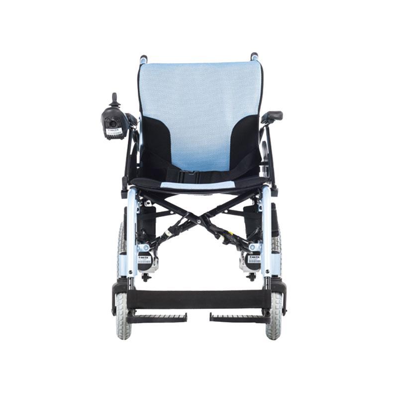 美利驰电动轮椅老人轻便折叠高端四轮全自动智能代步车P103