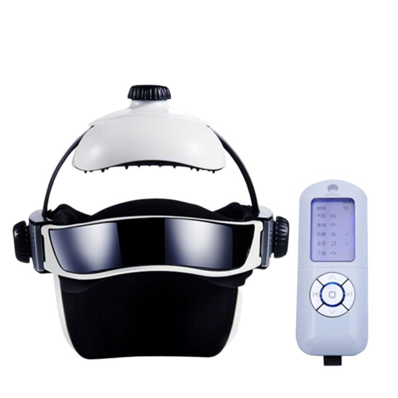 诺泰头部按摩器 穴位优质橡胶材料针状按摩 3段氏气压充气按摩 内置锂电池+新增音乐数量 NT16Y103