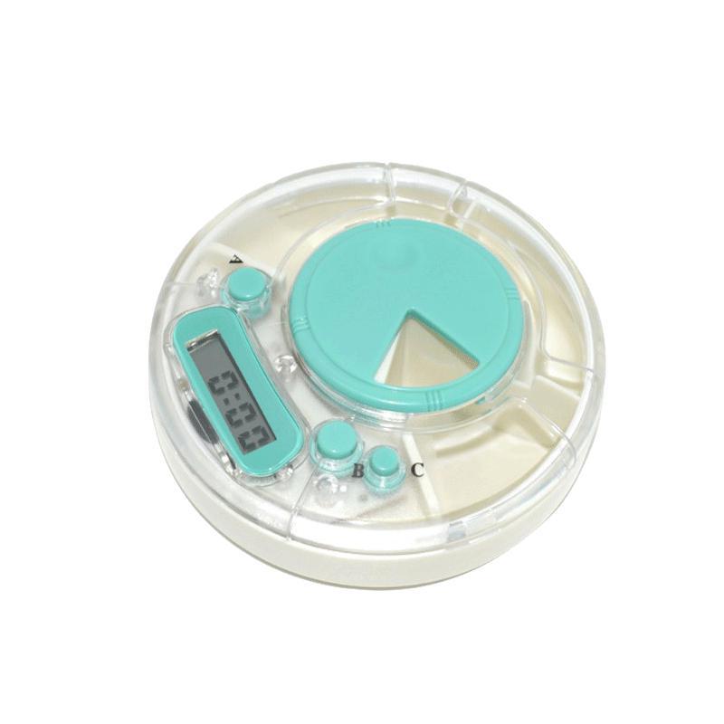 华立鑫语音智能电子药盒 多功能提醒药盒 随身便携定时药具 PFT-55V