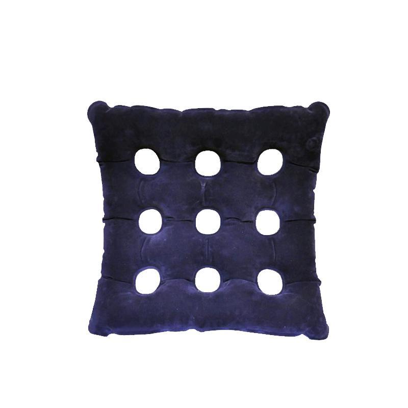 爱护佳防褥疮坐垫方形 植绒 红/蓝 KZY-01/坐垫