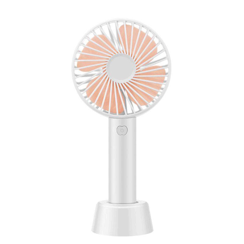 夏季大风量迷你usb可充电小风扇学生随身小型便携式宿舍床上车载(颜色随机)