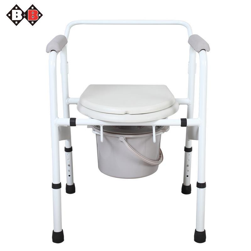 碧佳碧舒怡坐厕椅老人孕妇坐便椅可调节洗澡椅